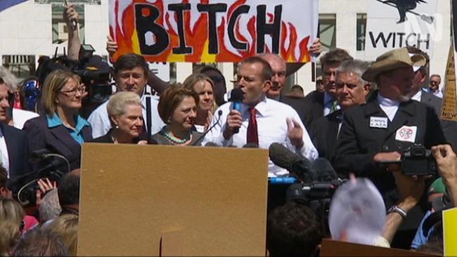 Gillard and former Labor MPs address misogyny
