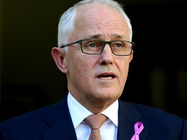Malcolm Turnbull is powerless against the Nationals' leadership choice. Picture: Kym Smith