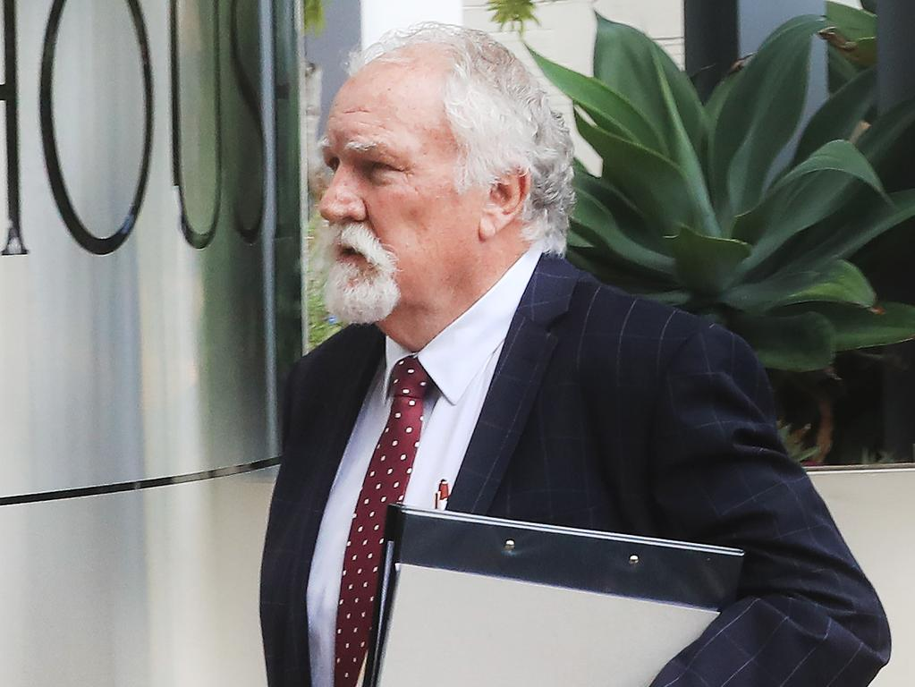 Chris Hannay, who is representing Brian Johnston, said his client remained in an induced coma. Picture: Scott Powick