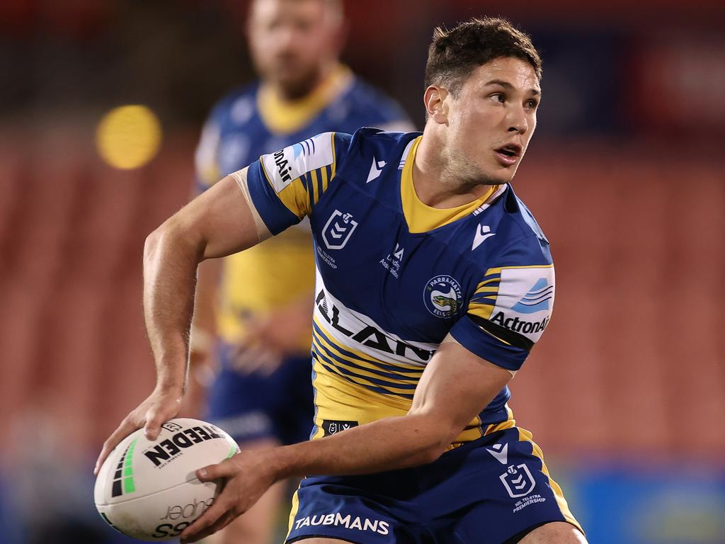 Moses couldn't return at a better time for the Eels. Picture: Mark Kolbe/Getty Images
