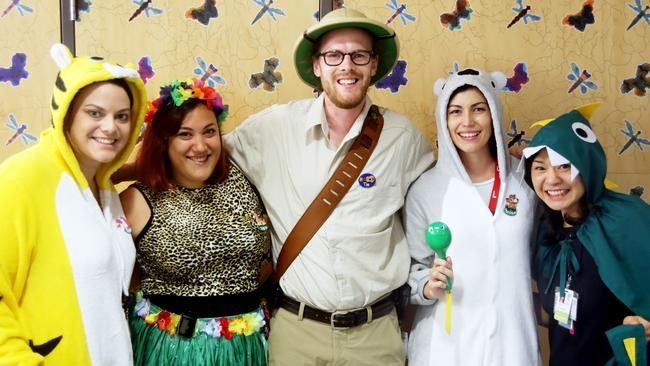 Lady Cilento Children's Hospital staff dress up each year to add a bit of colour and levity for the children and their families who pass through the doors each day.