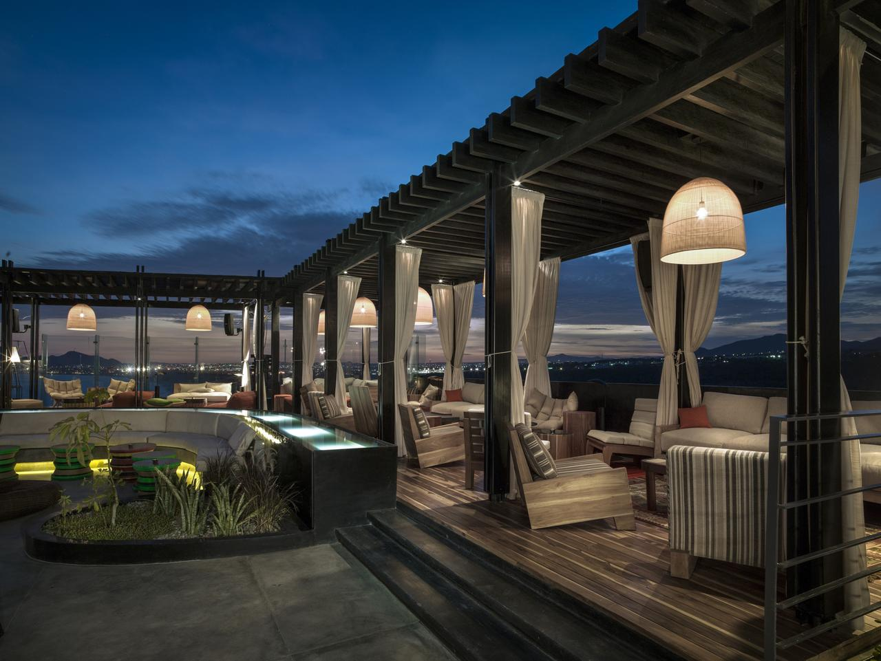 ESCAPE: Cabo, San Lucas .. Linda Silmalis story .. The Cape , A Thompson Hotel rooftop Picture: Thomas Hart Shelby