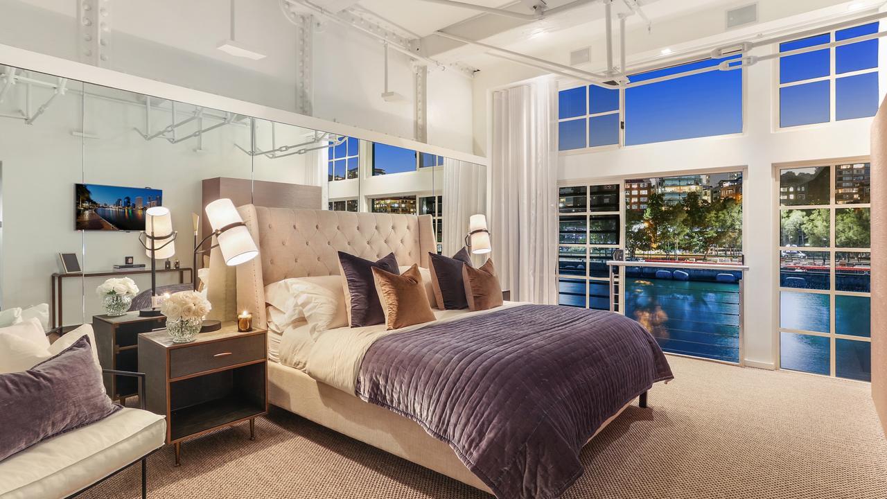 Lavish bedrooms.