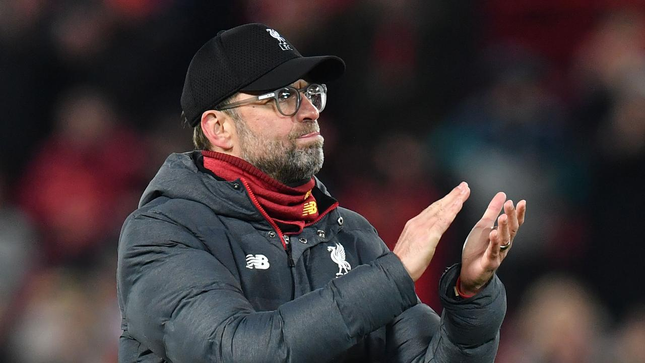 Liverpool's German manager Jurgen Klopp has delivered a stirring rallying cry to football fans to stay optimistic in the current gloom.