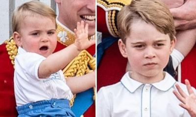 Prince George fighting with his brother is the cutest