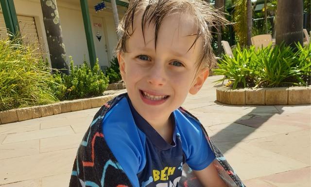 mum's warning: my boy forgot how to swim in lockdown