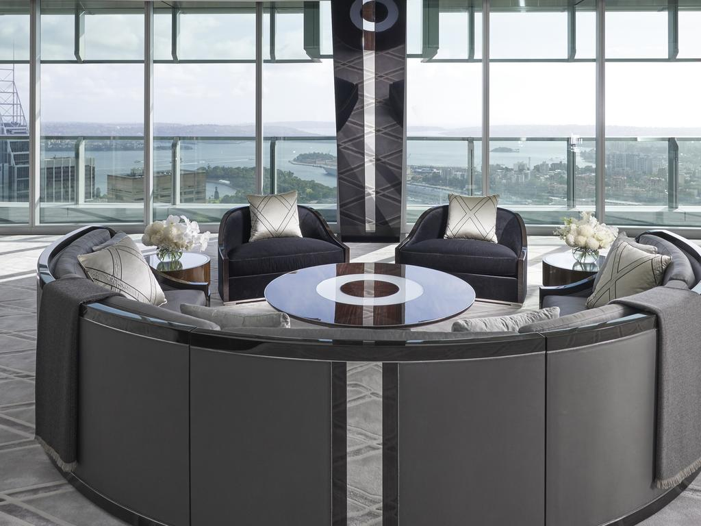 The Boyd Residence  An ambitious work of pure genius that took four years to complete, Australia's most prestigious penthouse, 'The Boyd Residence', is the crowning glory of the internationally awarded ANZ Tower in the heart of Sydney's CBD.