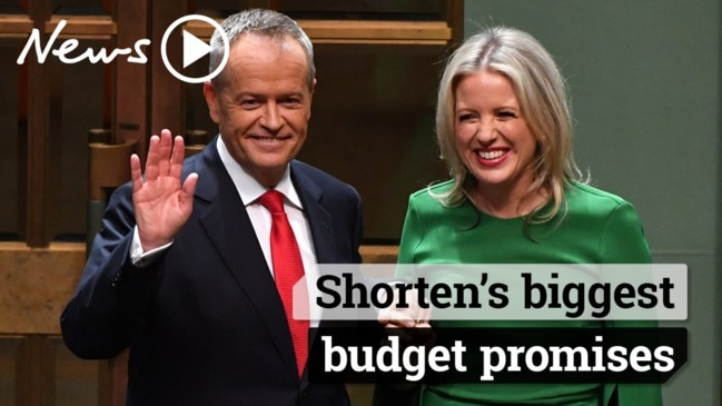Bill Shorten Budget Reply: Labor's biggest promises
