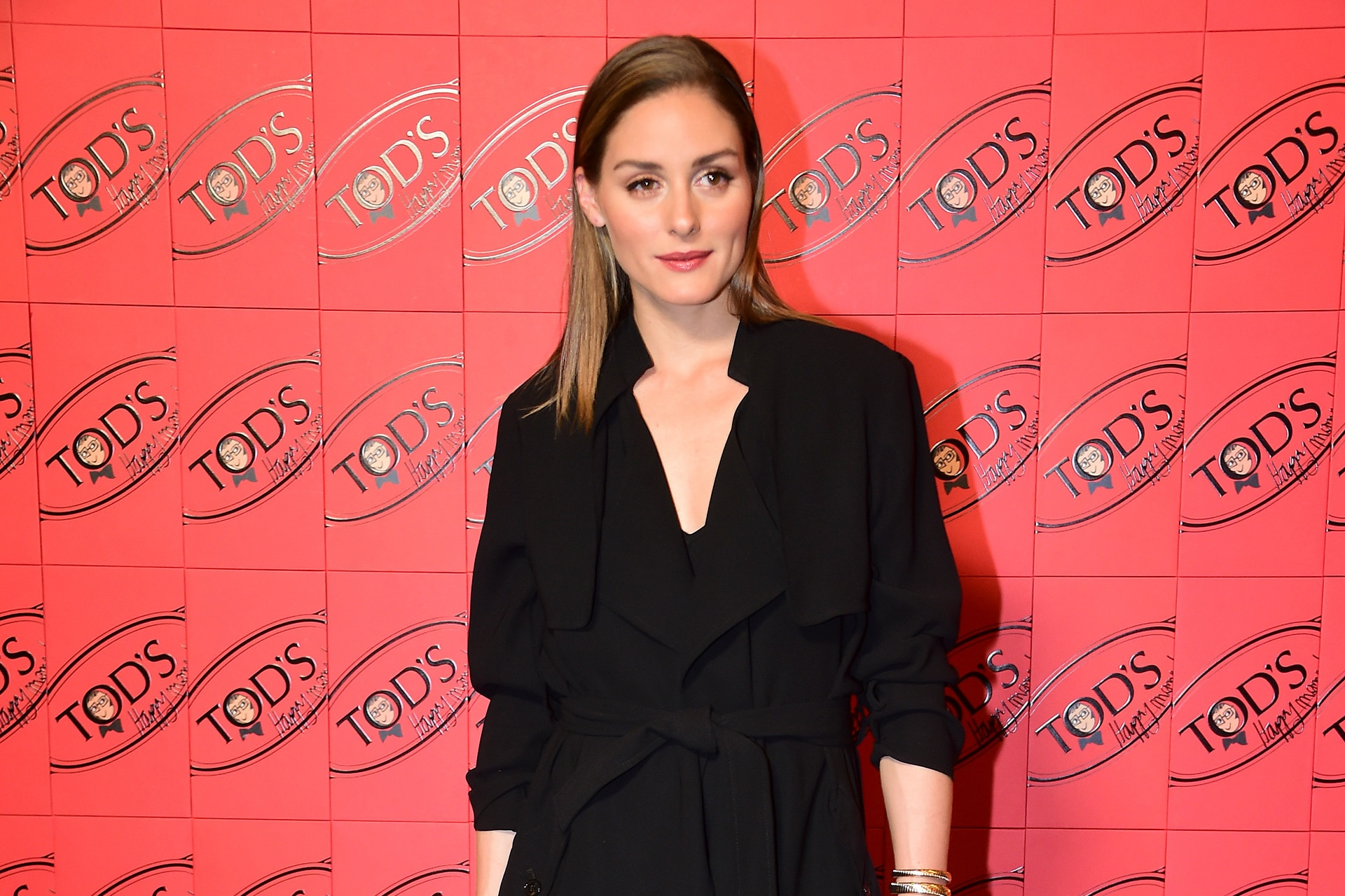 Olivia Palermo at Tod's Happy Moments by Alber Elbaz launch event