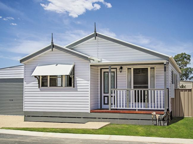 Rental yields are about six per cent in Albury.