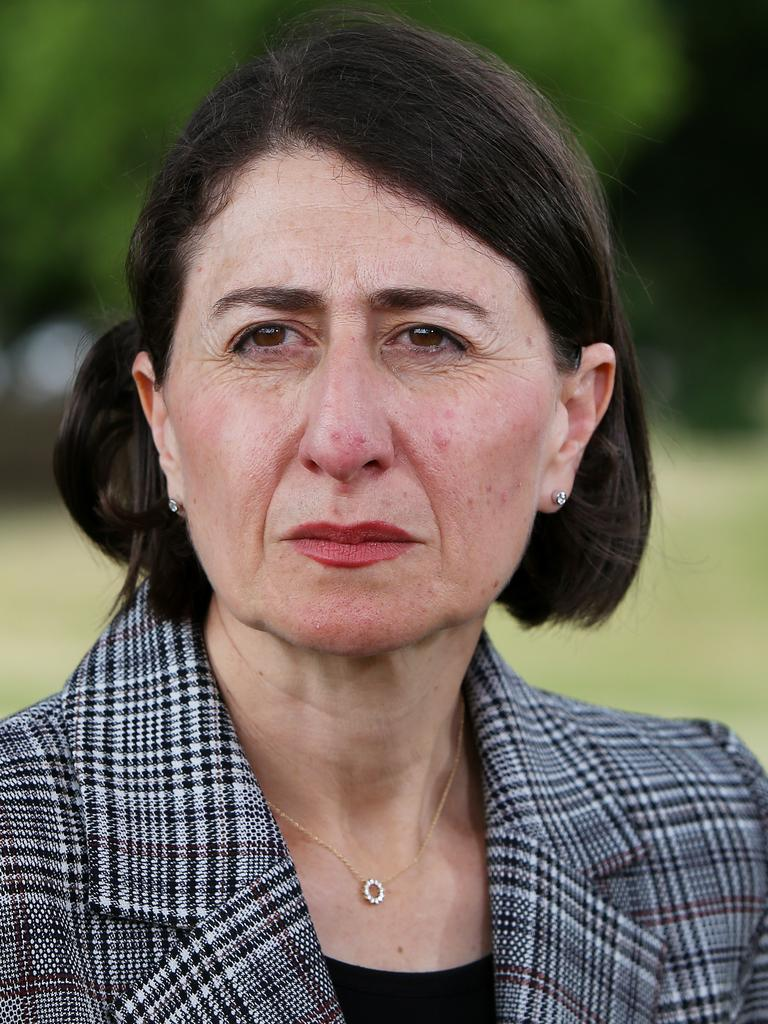 Premier Gladys Berejiklian. Picture: Lisa Maree Williams