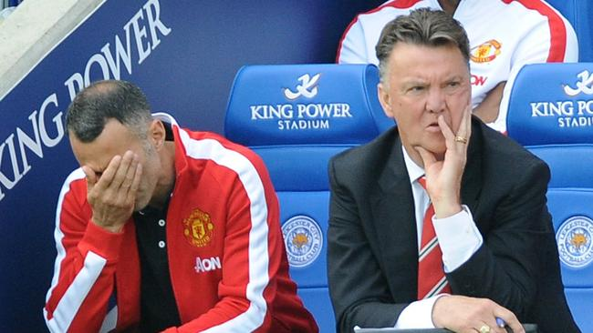 Manchester United manager Louis van Gaal reflects on yet another loss.