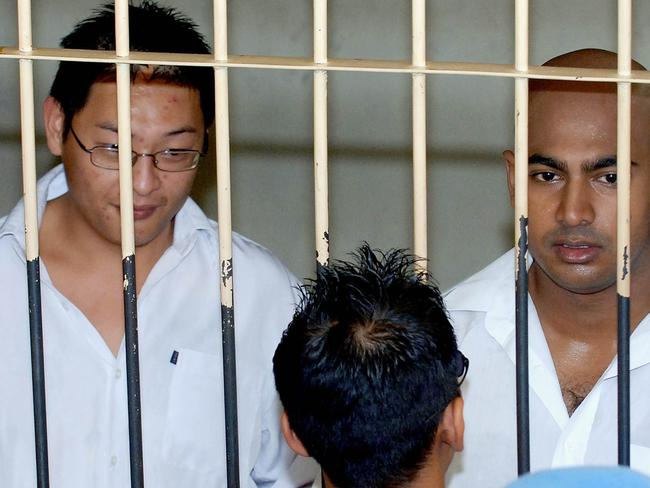 Bali Nine duo ... Andrew Chan and Myuran Sukumaran face the death penalty in Indonesia. Picture: AFP/Jewel Samad