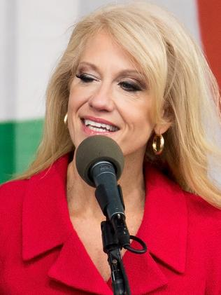 Kellyanne Conway has thrown shade at Hillary Clinton on Twitter.  Picture:  AFP