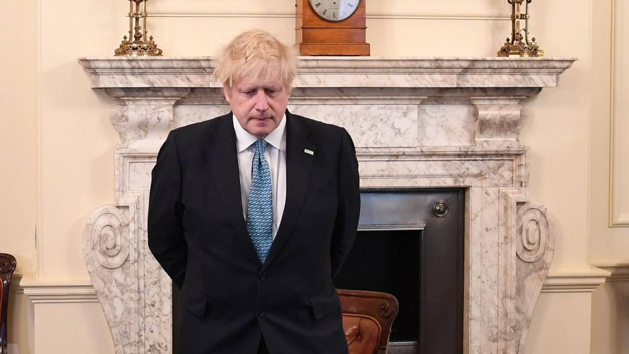 Britain's Prime Minister Boris Johnson has returned to work after contracting coronavirus. Picture: AFP