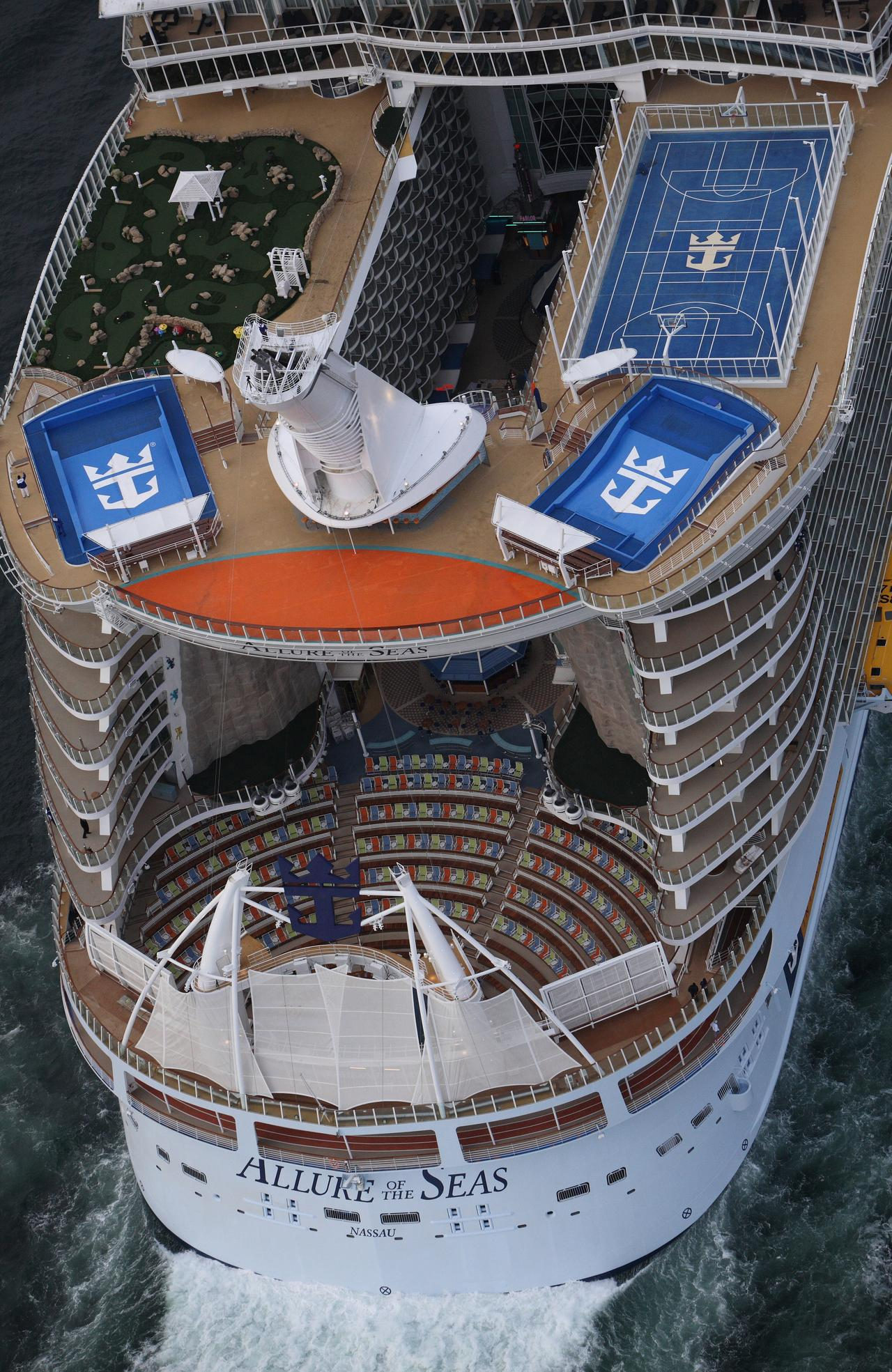 Why the captain of the world's biggest cruise ship, Allure