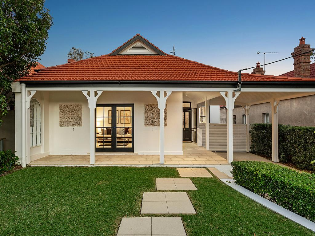 First-home buyer budgets align with prices - the average Sydney house sells for just over $1m.
