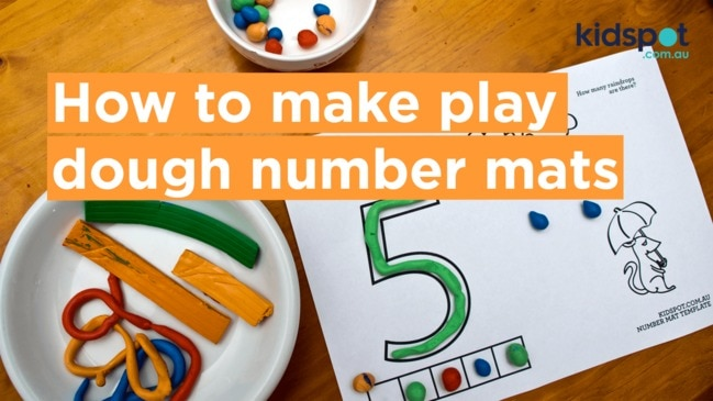 Print off these free printables and use them to help your preschooler to learn their numbers while working on their motor skills.