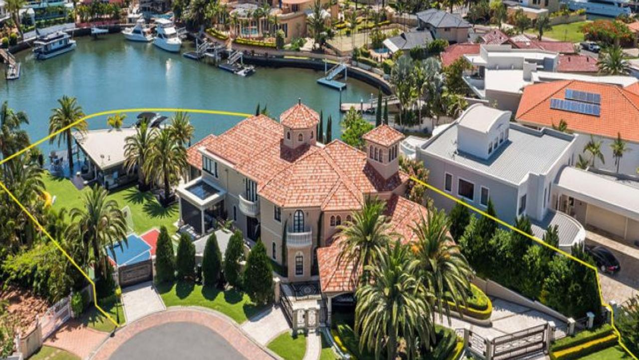 This mansion at Sovereign Islands sold for $11m in 2019.