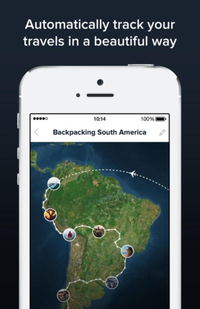Polarsteps app