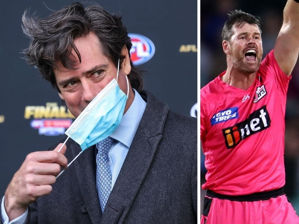 Will the AFL and BBL enforce a Covid mandate>