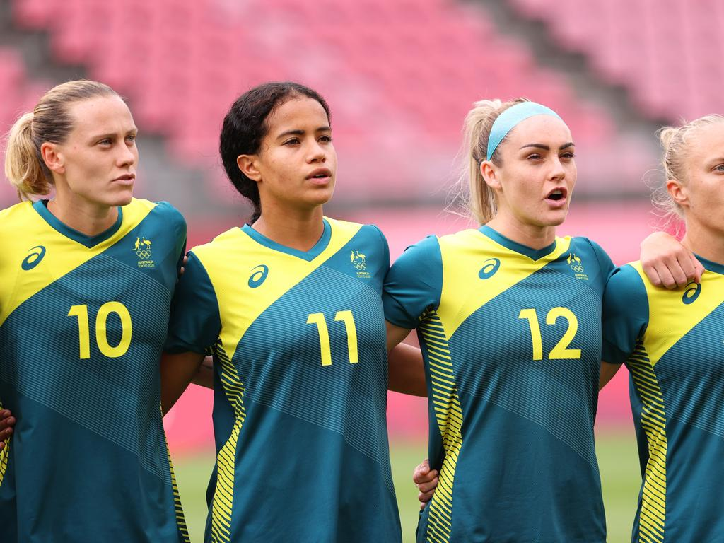 The Matildas are playing for a spot in the semi-finals on Friday.