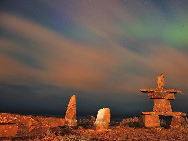 """8. CHURCHILL, MANITOBA If you want Antarctica but can't quite get there, Manitoba is your next best option. It's unofficially """"The Polar Bear Capital of the World"""" and is an excellent place to witness the Northern Lights."""