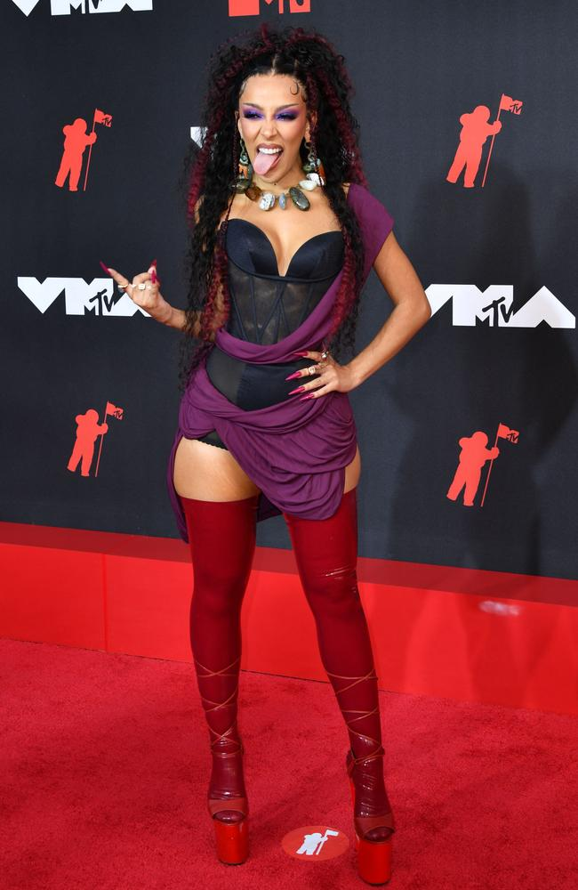 Doja Cat is this year's host. Picture: Angela Weiss/AFP
