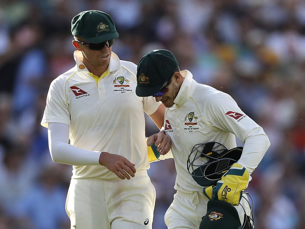 Paine was full of praise for the warrior that is Peter Siddle.