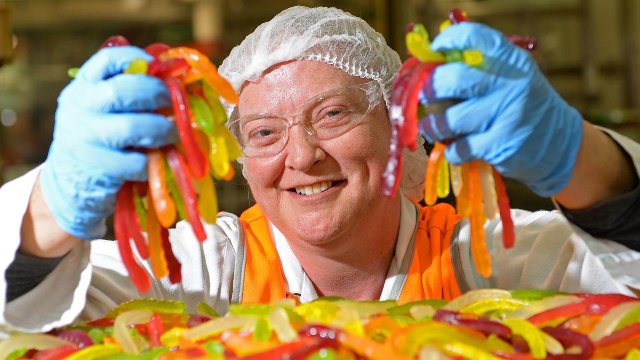 The Natural Confectionery Company confectioner Caryn Hanigan. Picture: Craig Hughes