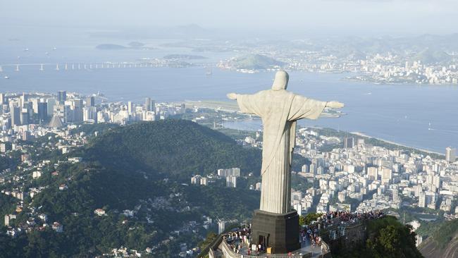 Christ the Redeemer overlooks Rio de Janeiro. Picture: ThinkStock