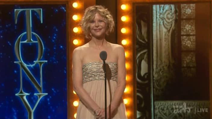 Meg Ryan at the Tony Awards