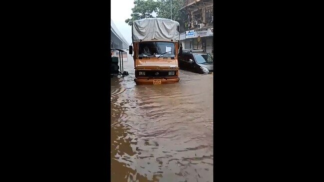Flooding in Mumbai After Heavy Rainfall