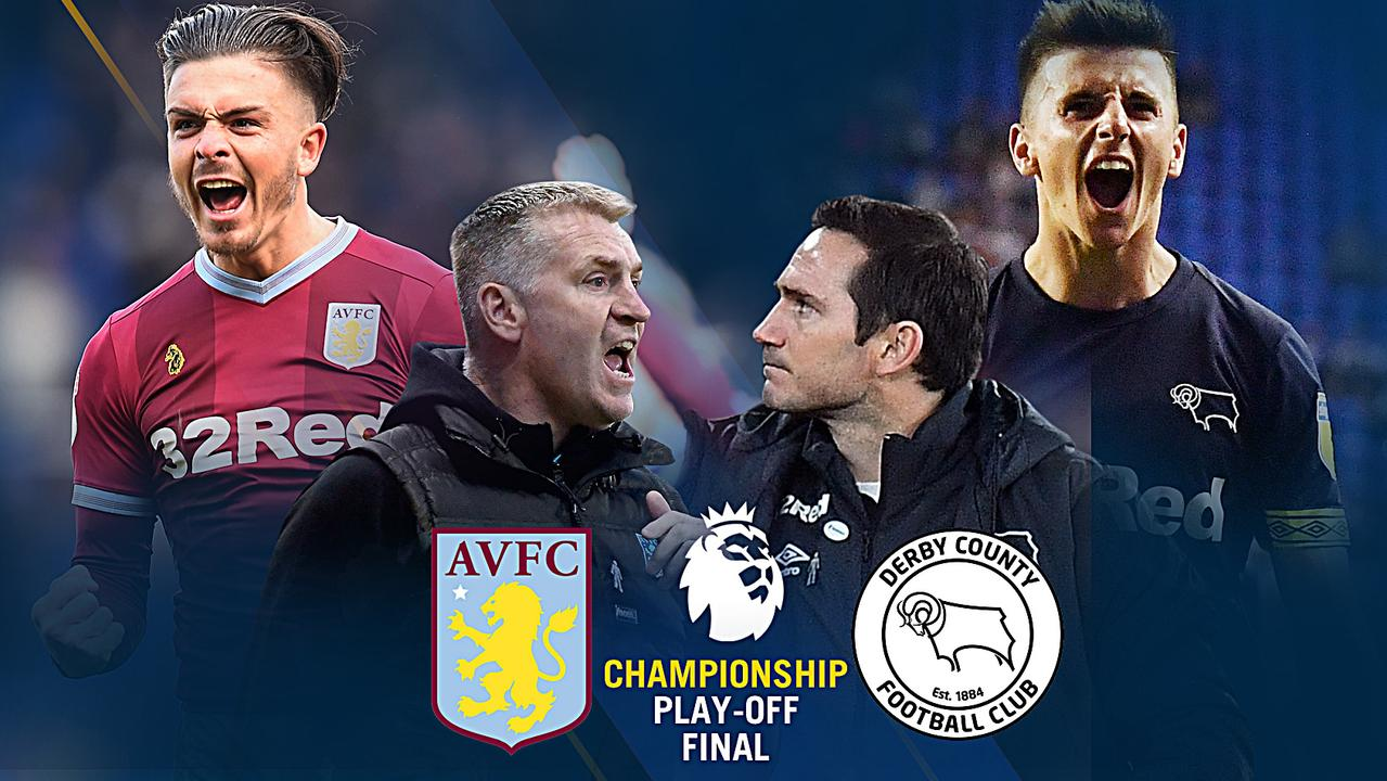 Aston Villa and Derby meet in the Championship Playoff Final