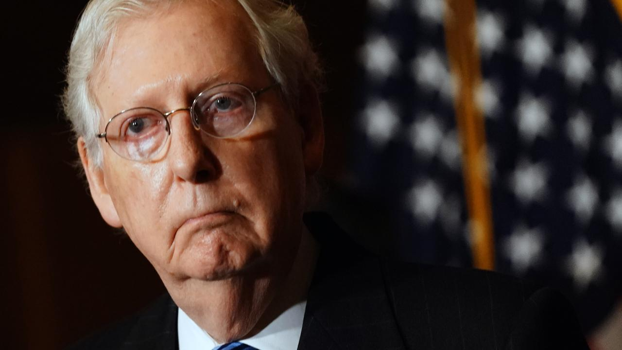 Senate Minority Leader Mitch McConnell. Picture: Kevin Dietsch