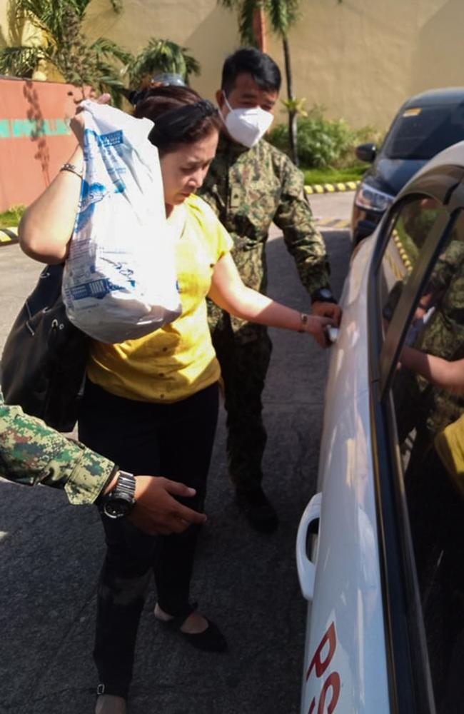 The wife was arrested on suspicion of adultery. Picture: Viral Press/australscope
