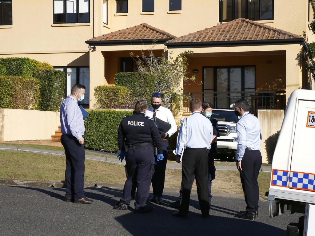 A 15-year-old boy from Goodna was apprehended at the scene by neighbours and taken into custody. He has since been charged with four counts of attempted murder. Picture: NCA NewsWire/Tertius Pickard