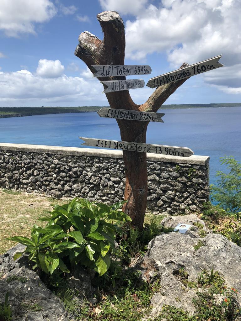 Jokin Cliffs, Lifou in New Caledonia. Picture: Mercedes Maguire