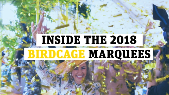 Melbourne Cup 2018: Inside the Birdcage marquees at Flemington Racecourse