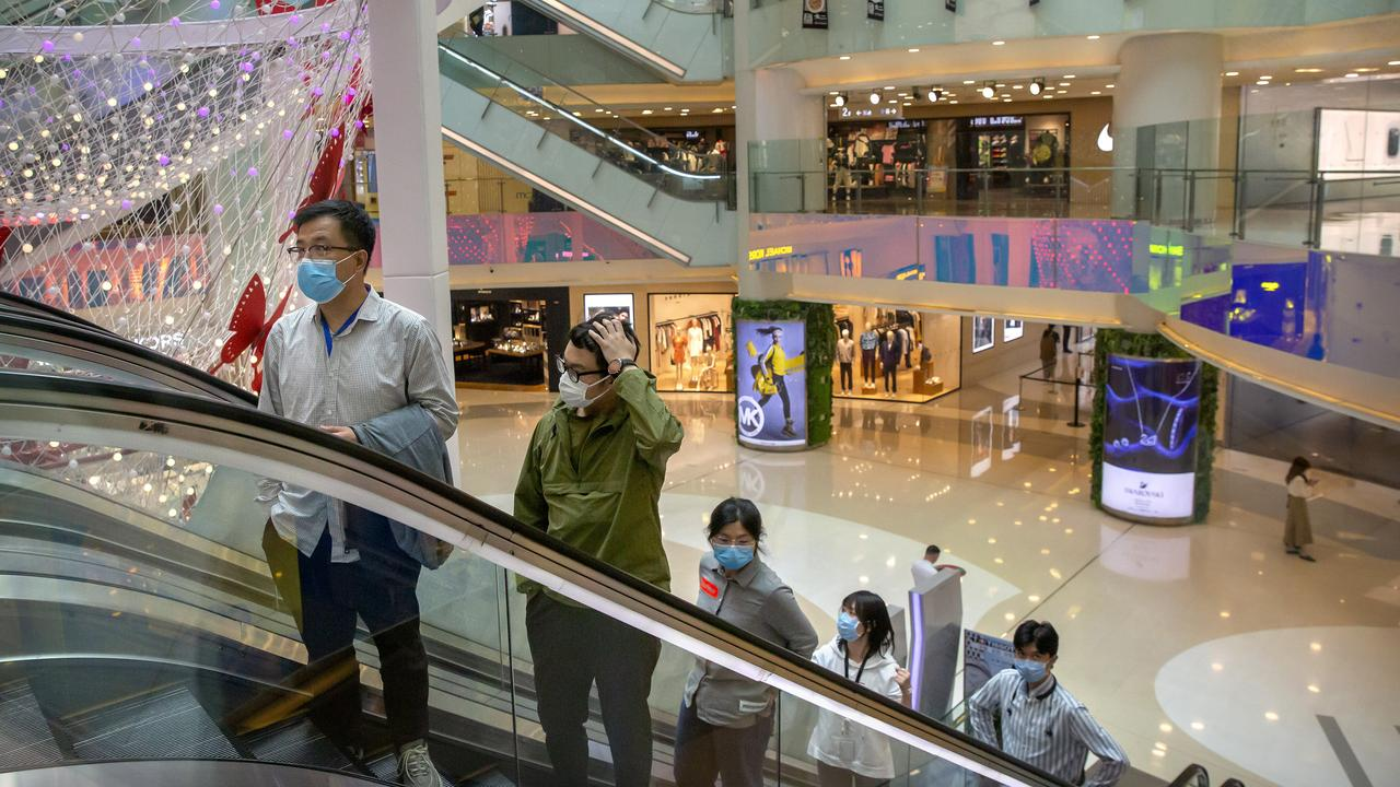 Consumer spending in China is slow to recover. Picture: AP Photo/Mark Schiefelbein