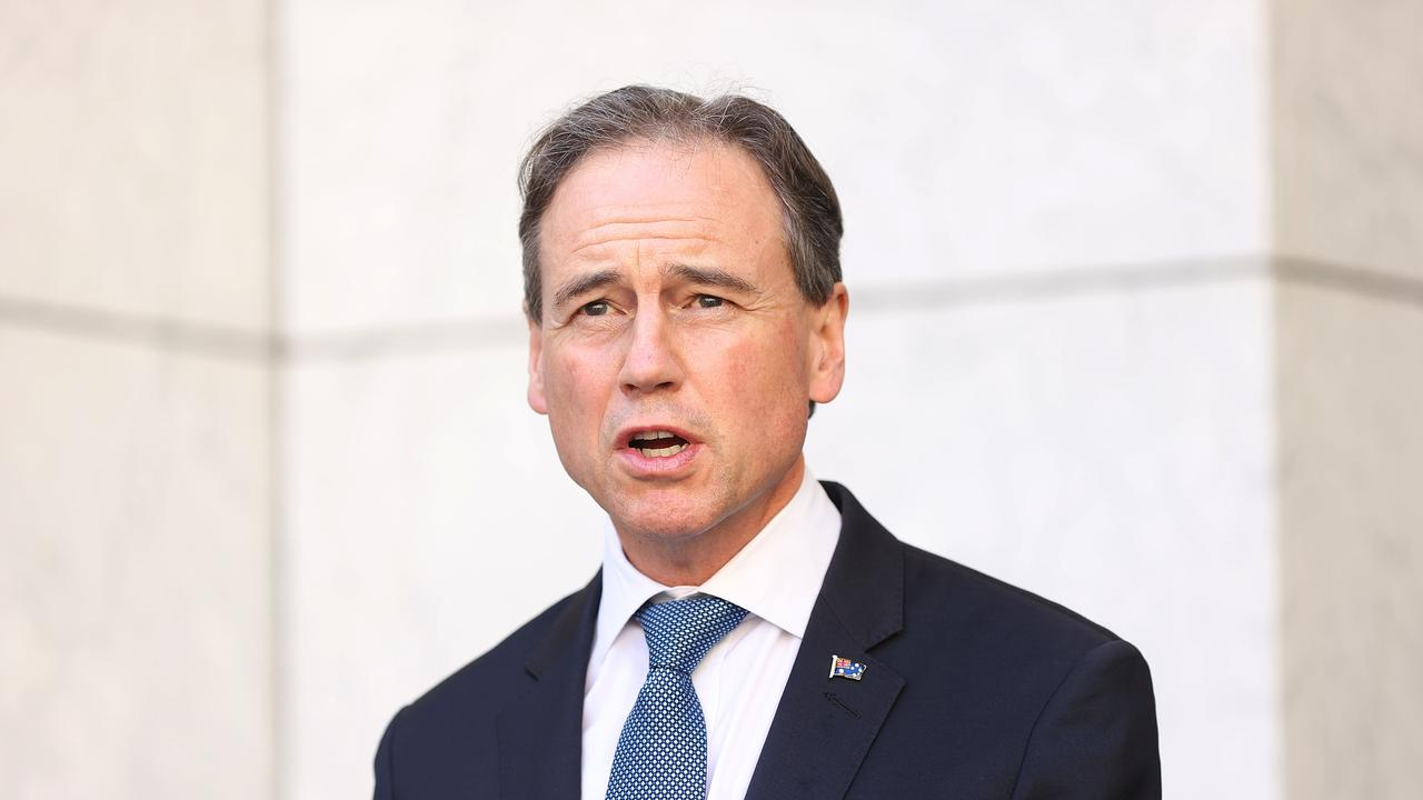 The Health Minister says he does not anticipate any workplace shortages in aged care. Picture: NCA NewsWire / Gary Ramage
