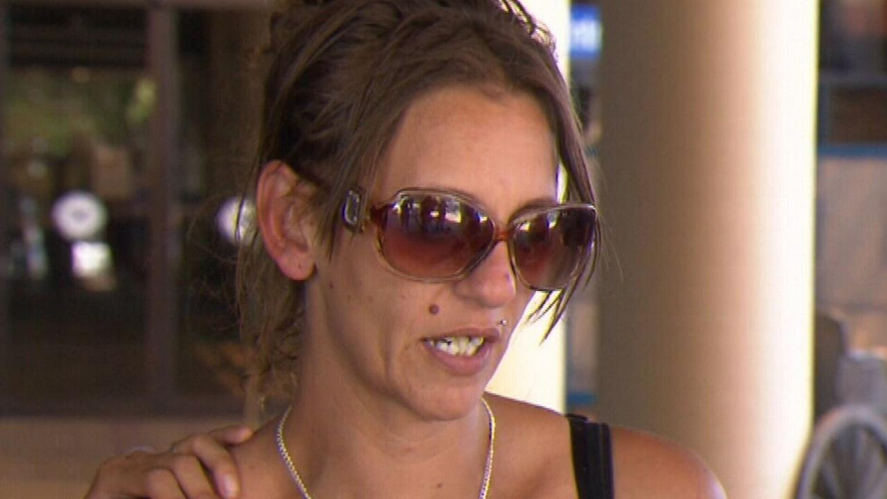 Lacey Harrison thanked the Government for 'doing the right thing'. Picture: 9 News