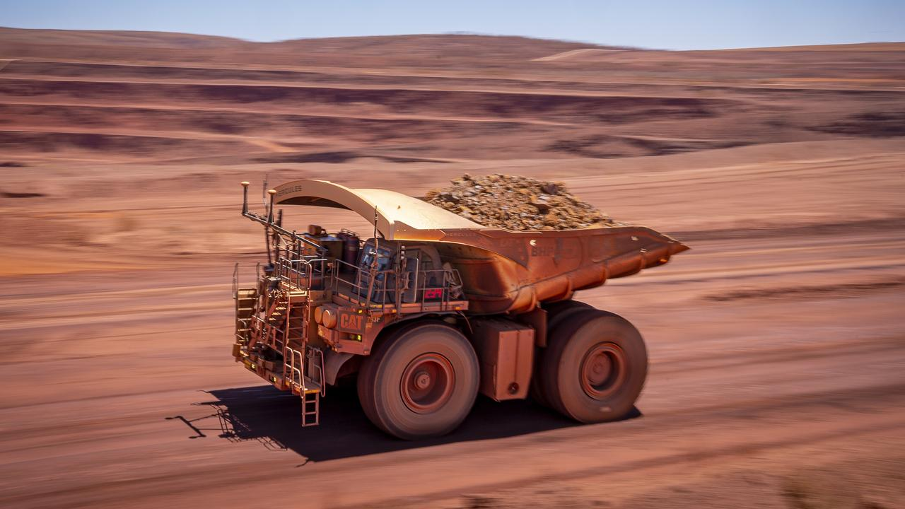Iron ore prices have dropped since hitting a record high last month.