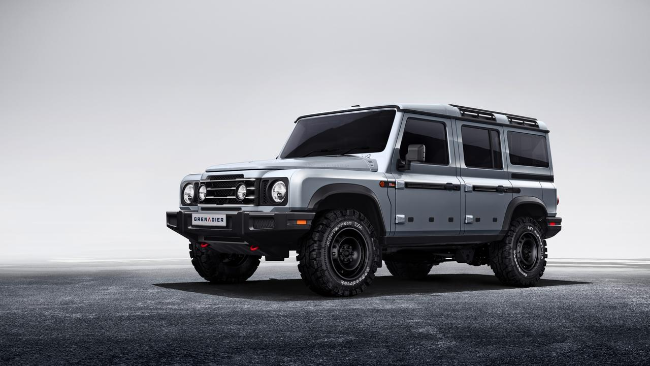 The Grenadier combines BMW power with four-wheel-drive traction.