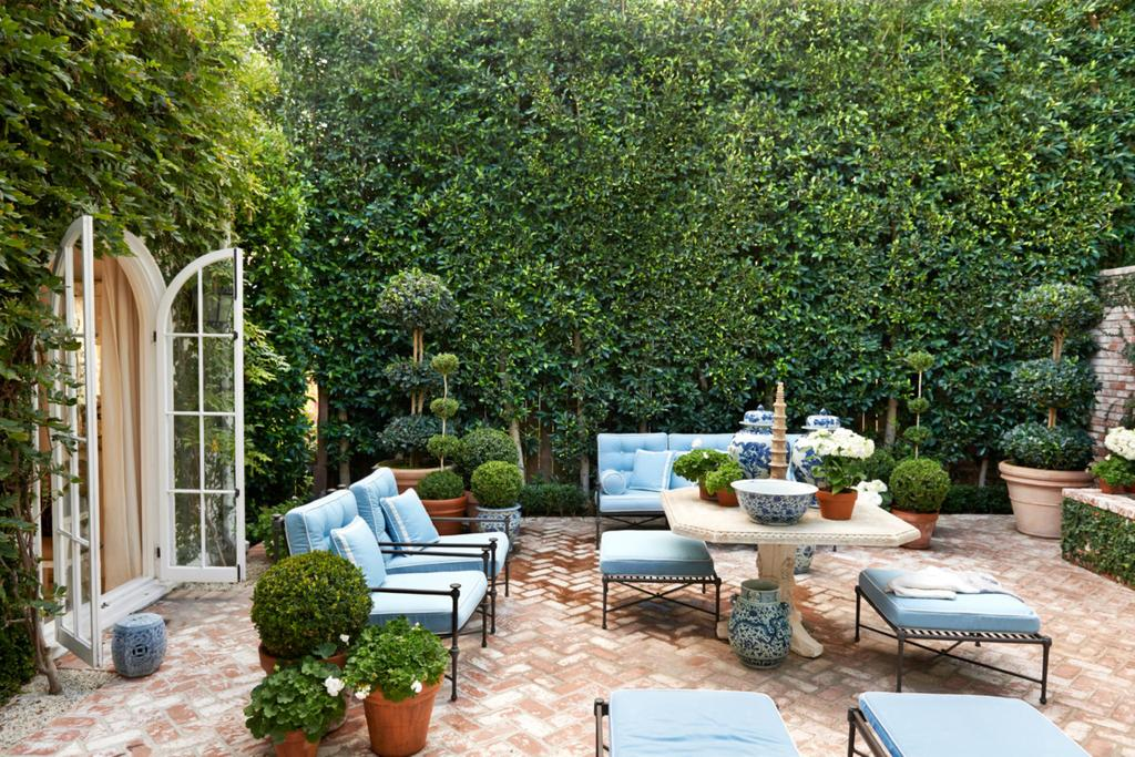 Gardens Balconies And Courtyards How To Master Greenery At Home Vogue Australia