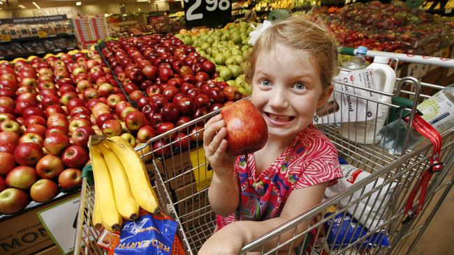 Free fruit for kids at Woollworths stores