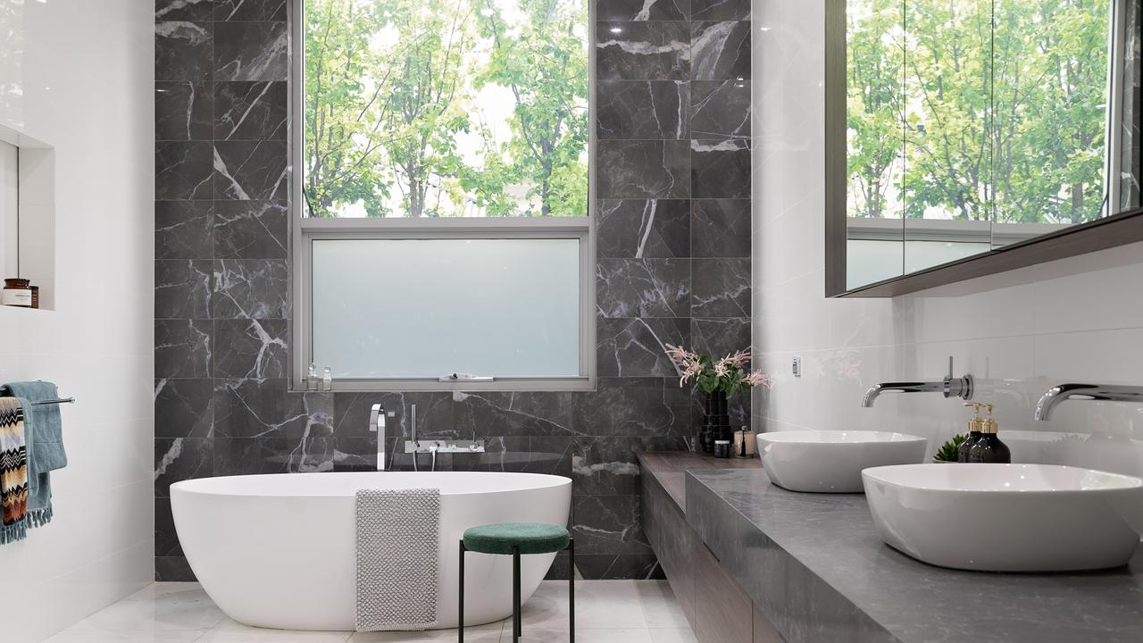 One of the many bathrooms. Picture: Williams Real Estate.