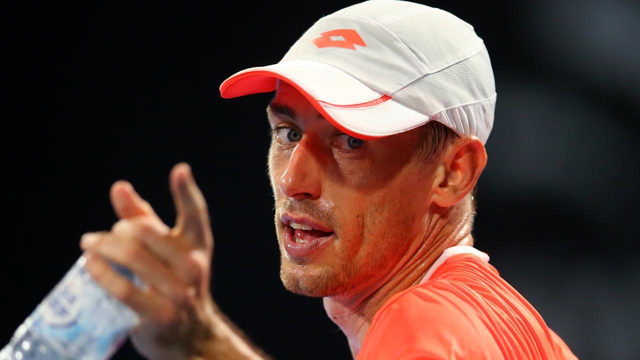 John Millman would like Australian Open organisers not to stick with Dunlop.