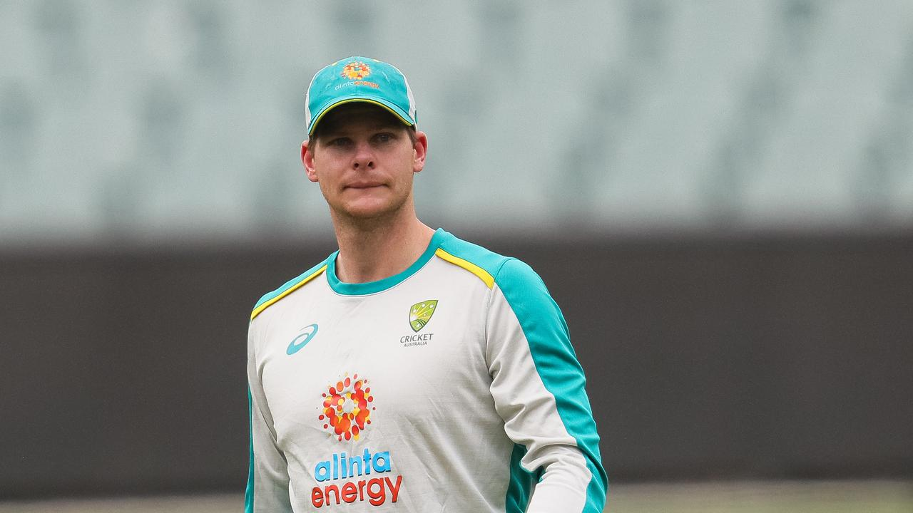 Steve Smith missed a net session after an apparent back injury.