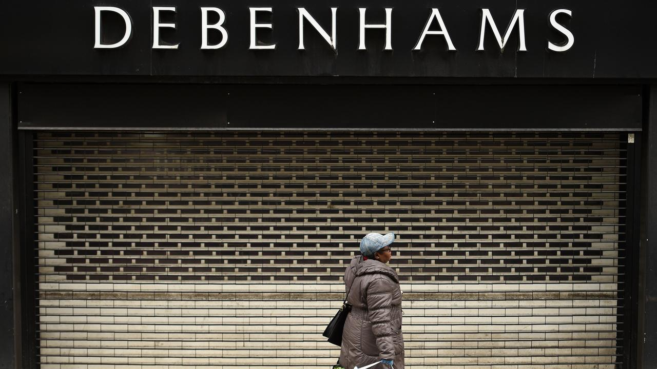 All Debenhams department stores in the UK have closed, including this branch in Manchester. Picture: Oli Scarff/AFP